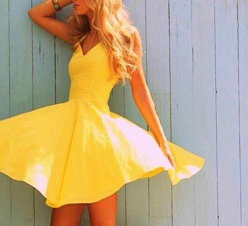 Favim Fashion: Blonde-blue-clothes-dress-fashion-Favim.com-411758